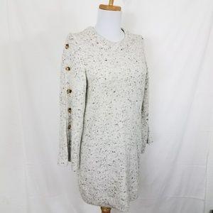 Madewell Donegal Sweater Dress Bell Sleeve Sz XS